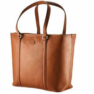 Hartmann Heritage Brown Leather Tote XL Large Bag